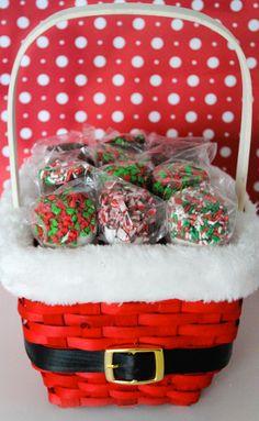 Christmas Marshmallow treats. ♥