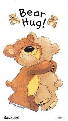 Lot 3386 for a x Suzy's Zoo Sticker Sheet Bear Hug! Teddy Bear Quotes, Teddy Bear Hug, Cute Teddy Bears, Tatty Teddy, Bear Hugs, Hug Pictures, Teddy Bear Pictures, Teddy Bear Images, Crochet Teddy