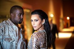 Pin for Later: The 69 Met Gala Moments You Need to See  Pictured: Kim Kardashian and Kanye West