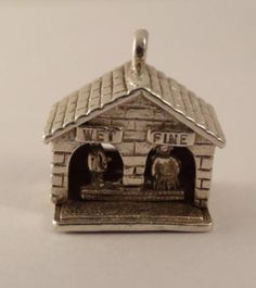 RARE Vintage English Sterling Silver Nuvo Weather Station Charm 3 5g | eBay