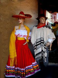 some gringos in traditional Mexican clothing...weird @_@ ritaflowers.deviantart.com on @deviantART