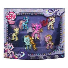 TRU Exclusive My Little Pony Friendship is Magic Pony Mania Friendship Blossom Pack Collection