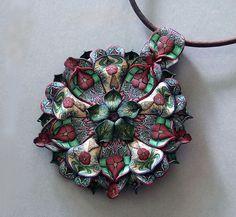 """Garden"" Pendant  by Jana Roberts Benzon, via Flickr"
