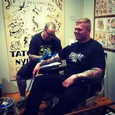 Live tattooing på Brandts #thisisodense #odense #brandts #tattoo