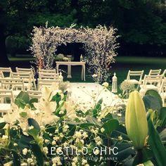 Ambientación de ceremonias para casamientos