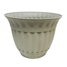 Misco 1859031 Milano Planter 18Inch Stone >>> Click image for more details.