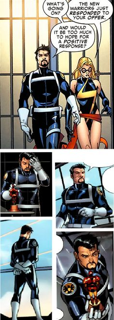 A moment of appreciation for Tony Stark's uniform as Director of SHIELD. You wear it well, Director Stark.