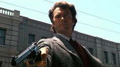 Clint Eastwood as Harry Callahan in The Dirty Harry series (1971-1988)