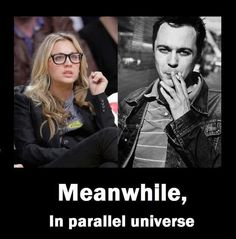 Say it ain't so. Sheldon smokes! Or at least his alter ego smokes. I don't think Sheldon would like that if he knew. ;-)