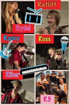 I loved the Love Me music video R5 made! So funny! Especially when Ratliff was hanging out with the girl and talking in Spanish!