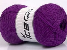 Lay flat to dry Fiber Content Superwash Virgin Wool Acrylic Purple Brand Ice Yarns Yarn Thickness 3 Light DK Light Worsted Crochet Yarn, Knitting Yarn, Ice Yarns, Soft Purple, Fiber Art, Diy And Crafts, Bamboo, Winter Hats, Throw Pillows