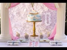 Cinderella Party via Little Wish Parties childrens party blog - YouTube