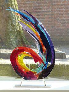 Glass art by Annemiek Punt