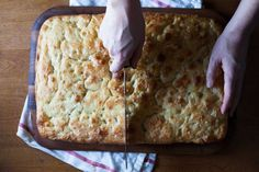 Saltie's Focaccia recipe on Food52
