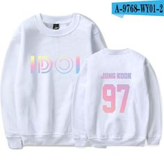 BTS K-pop DNA Sweatshirt Men Korean Bangtan Kpop Love Yourself Steetwear Harajuku Hoodies Men Winter Casual Hip Hop Fans Clothes Hoodie Bts, Bts Shirt, Bts Latest Album, Blusas Do Bts, Camisa Bts, Bts Clothing, Bts Inspired Outfits, Korean Fashion Trends, Fashion Ideas