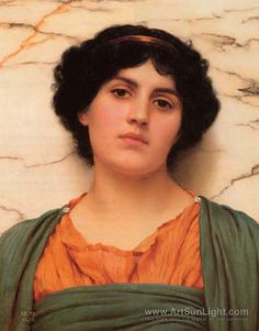 Palmira - John William Godward - oil painting reproduction