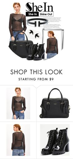 """Contest (shein)!"" by aleksandra985 ❤ liked on Polyvore featuring Kate Spade and Tiffany & Co."