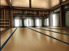 dojo - inspiration for Central School of Martial Arts in Echoes of the Past