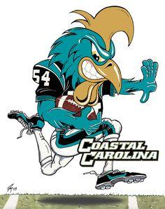 Coastal Carolina University Football http://www.coastalcarolinachanticleers.com/