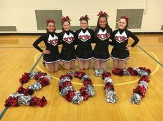 Spell out school acronym instead. Cheer Camp, Football Cheer, Cheer Coaches, Cheer Stunts, Cheer Coach Gifts, Cheerleading Stunting, Cheerleading Cheers, Dance Team Pictures, Cheer Team Pictures