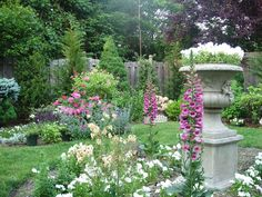 Captivating Turn Of The Century Garden Design | ... Of 18th, 19th And Turn
