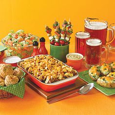 Super Bowl Party Menu from Cooking Light