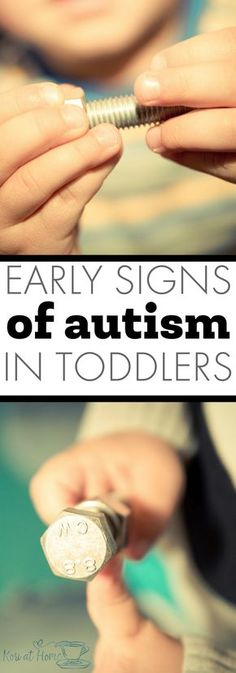 Perhaps it's just that doctors are getting better at diagnosing earlier. But here are a few key early signs of autism in toddlers that you can look for at home. #autism #autismintoddlers #earlyautism #earlysignsofautism #autisminkids #autismawareness #autismacceptance #autistickids