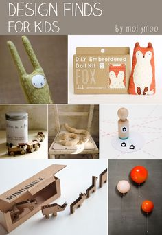 Round-up of design finds for kids | MollyMoo