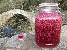 Limoncello, Sweet Words, Greek Recipes, Smoothies, Mason Jars, Beverages, Mugs, Fruit, Cooking