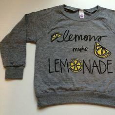 *NEW* Lemons Make Lemonade Raglan!