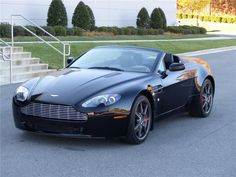 2008 ASTON MARTIN VANTAGE CONVERTIBLE - Barrett-Jackson Auction Company - World's Greatest Collector Car Auctions