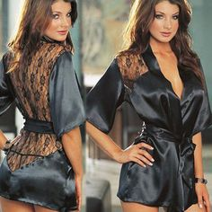 Latest arrival on our store: Sexy Lingerie 201.... See it here Now! http://www.yogamarkets.com/products/sexy-lingerie-2017-hot-sale-satin-lace-black-kimono-intimate-sleepwear-robe-womens-underwear-sexy-night-gown-sex-products?utm_campaign=social_autopilot&utm_source=pin&utm_medium=pin