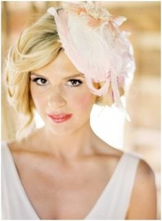 Lo Boheme: Springtime Bridal Hat $168. Of course this doesn't have to be for a bride! Afternoon tea, a day at the gardens or races ...