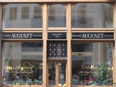 Auguszt Coffee House - City Center Location Budapest - as seen on Hairy Bikers