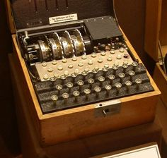 9 May 1941. During WWII, when a German U-110 submarine attacked a British convoy, two British vessels, the Bulldog and Aubretia, were able to retaliate so quickly with depth charges that the submarine was disabled and unable to dive. With the submarine captured, British sailors investigated the radio room and discovered the typewriter-like Enigma, a ciphering machine that enabled safe German communication, and documents of tables that helped explain how it worked. The U-110' s capture was…