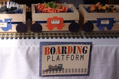 Vintage Trains Birthday Party Ideas   Photo 27 of 70   Catch My Party