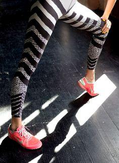 chevron running pants - love!