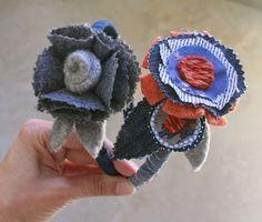 mmmcrafts: scrap pile headbands