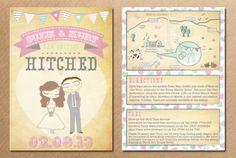 win your wedding invite