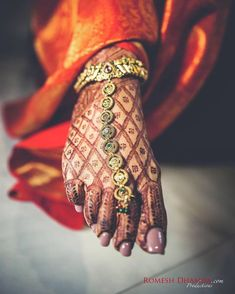 """4,242 Likes, 11 Comments - Indian Wedding (@indian__wedding) on Instagram: """"Patterns, motifs and ornaments ❤ how beautiful is Sonia's gold payal !! A bride in making…"""""""