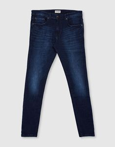Jeans superskinny fit azul oscuro - Super skinny fit - Jeans - Ropa - Hombre - PULL&BEAR México