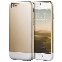 iPhone 6 Case, MOZE iPhone 6 (4.7) Case Protective SOFT-Interior Scratch Protection Slider Style Hard Case for iPhone 6 (2014) - Champagne Gold/white, http://www.amazon.com/dp/B00S2MBIDQ/ref=cm_sw_r_pi_awdm_De10wb043HBE6