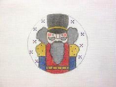 $11.95          Nutcracker Handpainted Needlepoint Canvas by MarsyesShoppe on Etsy