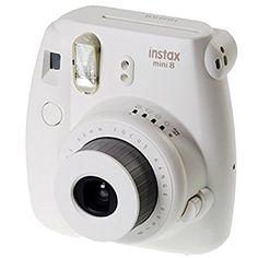 Fujifilm Instax Mini 8, Sofortbildkamera, Kamera, weiß