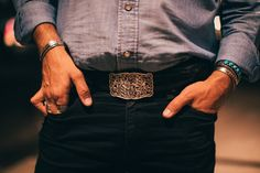The Grit Filigree Buckle⚡⚡⚡Handmade with 100% sterling silver down in Texas at our hat ranch! pc: @ptracy . . . . . #swagger #kemosabe #fashion #wildwest #jewelry #vintage #turquoise #cowgirl #cowboy #customhats #cowboyhats #hats #colorado #cowboyboots #cowgirlboots #beltbuckles #bolotie #belts #luxury #westerncowboy #westernwear #aspen #vail #vegas #newyork #dallas #houston #rodeo #country #countrylife Western Belt Buckles, Western Belts, Western Outfits, Western Cowboy, Western Wear, Cowgirl Boots, Cowboy Hats, Thing 1, Custom Hats