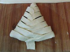 ;-): Vegan Christmas Tree Pastries
