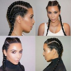 Kim Kardashian With Braids Pictures hairstyle kim kardashian braids hair trendsetter Kim Kardashian With Braids. Here is Kim Kardashian With Braids Pictures for you. Kim Kardashian With Braids kim kardashian braids for music video gotc. Cute Hairstyles For Short Hair, Twist Hairstyles, Curly Hair Styles, Natural Hair Styles, Hairstyles 2016, Boho Hairstyles, Hairstyle Photos, Blonde Hairstyles, Everyday Hairstyles