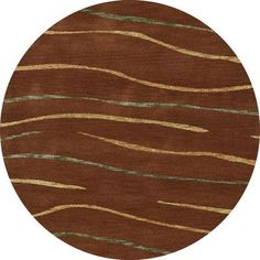 Dalyn Rug Co. Bella Brown Area Rug Rug Size: Round 12'