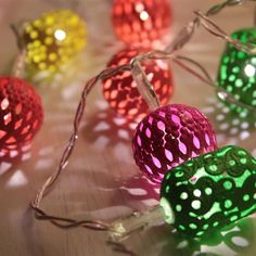 Our 'Maroq' Battery LED string light is a unique gift idea for $19.95. Available in Neon, White & Silver.  Moonlight Treasures products are high quality LED lighting, backed by a 12 month warranty.   Order today and have it shipped to your door! Happy Shopping! Led String Lights, Tutti Frutti, Moonlight, Happy Shopping, Christmas Bulbs, Unique Gifts, Neon, Lighting, Holiday Decor