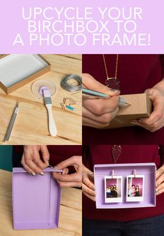 """Birchbox Upcycle: """"Open Concept"""" Frame"""